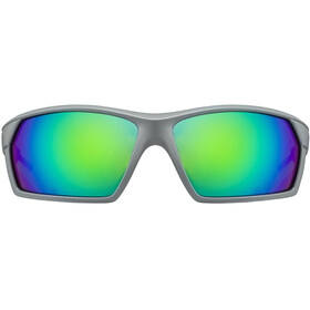 UVEX Sportstyle 225 Glasses grey / neon green/mirror green